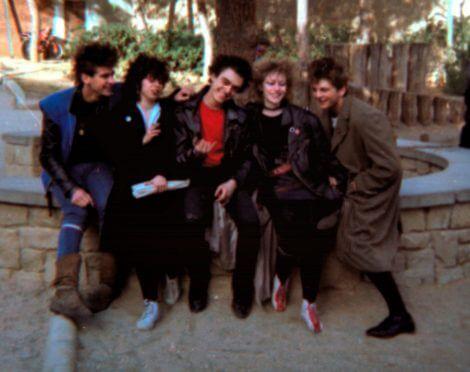 Los cinco en 1982